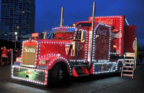 Coca Cola Christmas truck in Belfast   Belfast Live