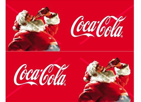 Coca cola Christmas truck labels