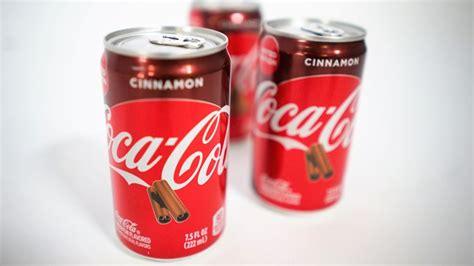 Coca Cola Cinnamon returns to shelves for the 2020 holiday ...