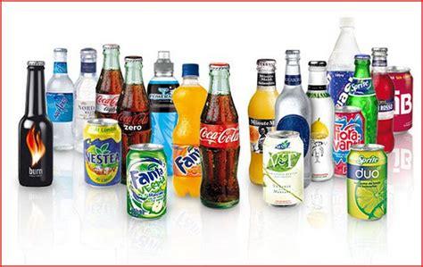 Coca cola & Co: Tipos de productos de la compañía de Coca Cola
