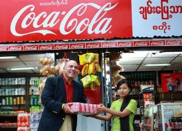 Coca Cola entra en Myanmar por primera vez en 60 años ...