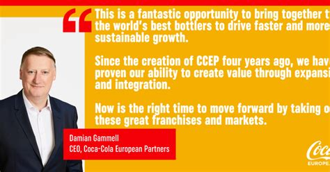 Coca Cola European Partners today announces it has entered ...