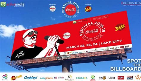 Coca Cola Food and Music Festival' is all set to take ...