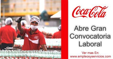 Coca Cola Genera Empleo