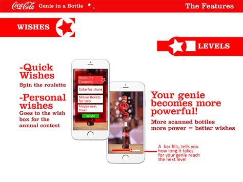 Coca Cola Genie in a Bottle / WINNER on Behance