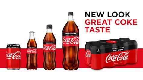 Coca Cola Gran Bretaña rediseña su empaque de Zero Sugar ...