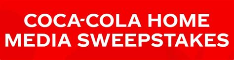Coca Cola Home Media Sweepstakes 2020: Win a 50 inch Smart ...