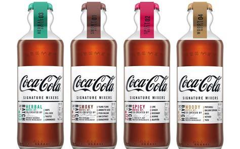 Coca Cola lanza cuatro nuevos sabores para mezclar con alcohol