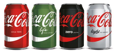 Coca Cola Makes Over Look of Cans to Shake Calorie Stigma ...