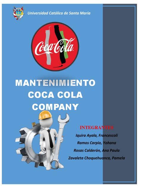 Coca Cola Mantenimiento   Planificación   Ingeniería de ...