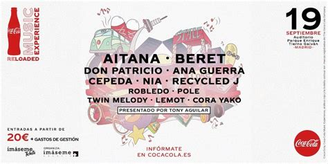 Coca Cola Music Experience Reloaded 2020 se suma a los ...