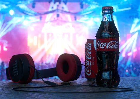 Coca Cola Music Festival | CGTrader