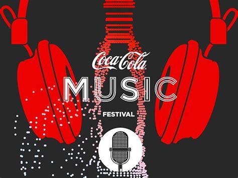Coca Cola Music Festival on Behance