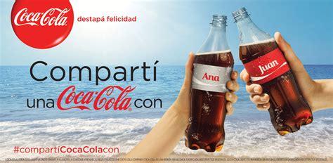 """Coca Cola presenta la campaña """"Compartí una Coca Cola ..."""