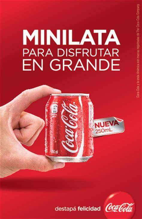 Coca Cola presenta un innovador envase minilata   LatinSpots