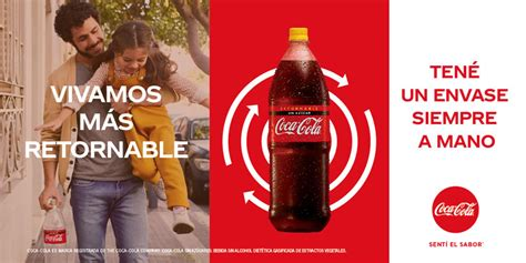 Coca Cola presenta Vivamos más retornable   LatinSpots
