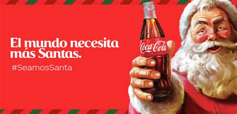 Coca Cola quiere que todos Seamos Santa: Coca Cola Latin ...