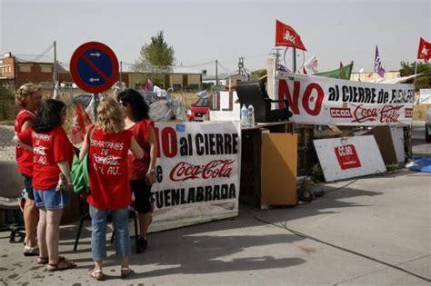 Coca Cola reabrirá la planta de Fuenlabrada el 7 de ...