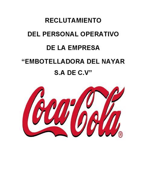 coca  cola | Reclutamiento | Recursos humanos