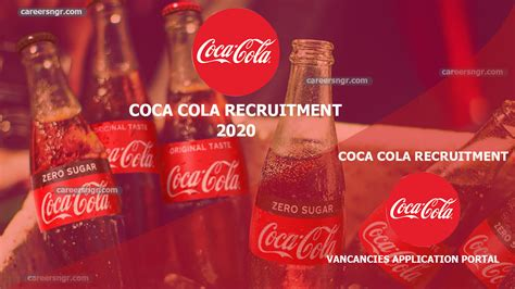 Coca Cola Recruitment 2020   Vacancies Application Portal