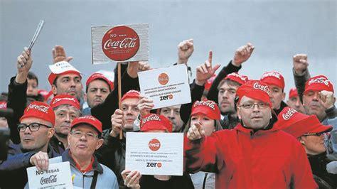 Coca Cola reincorporará a los trabajadores despedidos en ...
