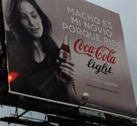"""Coca Cola retirará anuncios considerados """"machistas"""" por ..."""