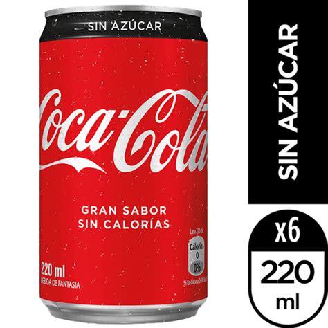 Coca Cola Sin Azucar Lata 220 Cc en Unimarc Vitacura