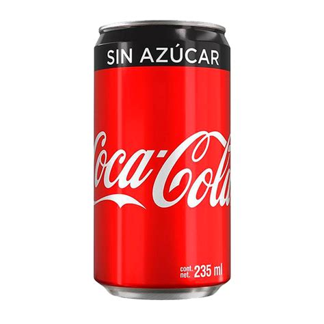 Coca Cola Sin Azúcar Sin Azucar Refresco Lata X 24 en ...
