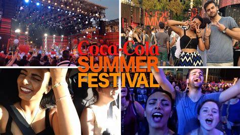 COCA COLA SUMMER FESTIVAL   YouTube
