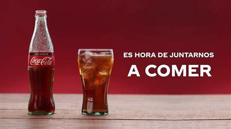 Coca Cola utiliza a la comida como motivo de unir a las ...