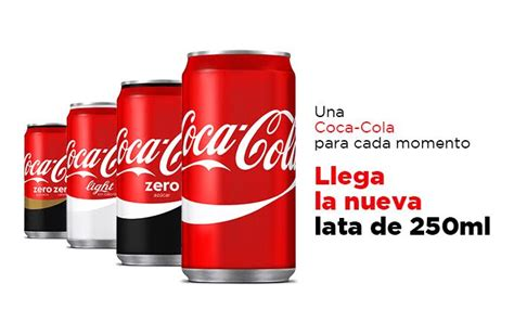 Coca Cola ya tiene nuevo formato en España: latas de 25 ...