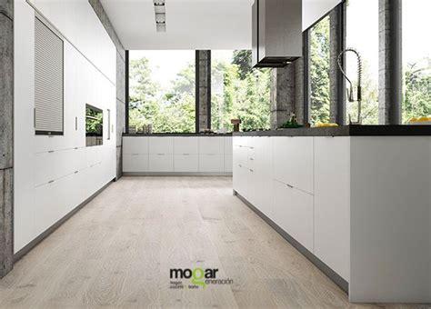 Cocina blanca y gris. #creandotuhogardesde1982 #mogar # ...