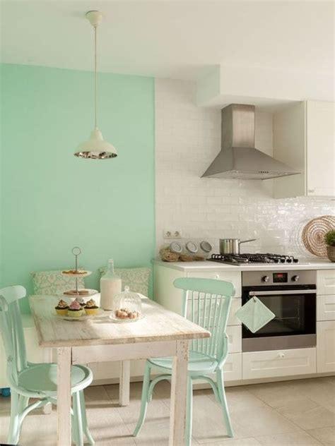 Cocina en blanco y verde agua   muebles en 2019   Cocina ...