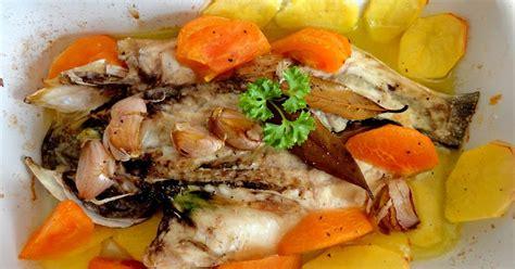 cocinaros: Lubina al Ajo Pescador