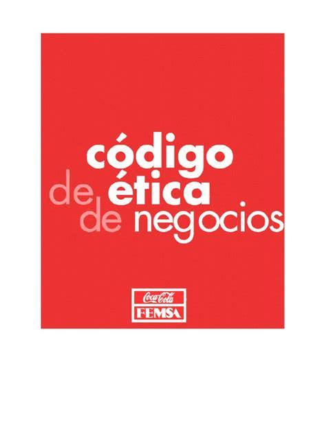 Código de Etica de coca cola | Recursos humanos | Mercado ...