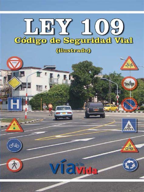 Código de Seguridad Vial Ley 109 de Cuba   Calle ...