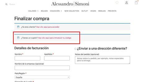 Código Descuento Alessandro Simoni   Hasta  50% DTO ...
