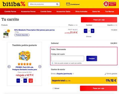 Código Descuento Bitiba    3% y  5% DTO   Descuentos ...