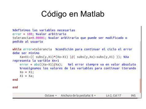 Codigo matlab