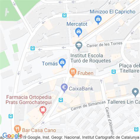 Código Postal calle Alcantara en Barcelona   Codigopostalde.es