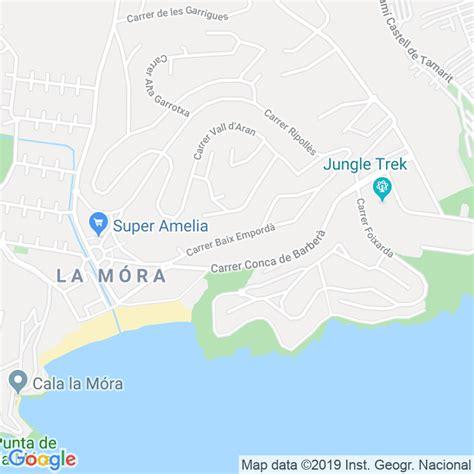 Código Postal calle Baix Emporda, El en Tarragona ...