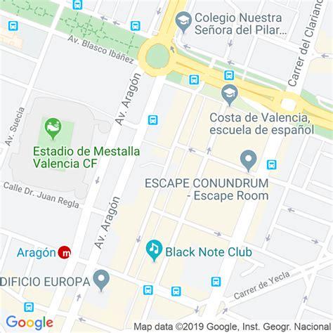 Código Postal calle Belgica en Valencia   Codigopostalde.es