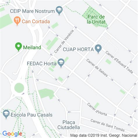 Código Postal calle Campoamor en Barcelona   Codigopostalde.es