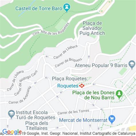 Código Postal calle Cantera en Barcelona   Codigopostalde.es