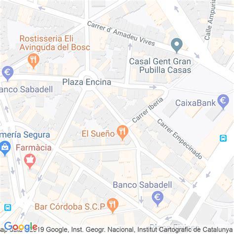 Código Postal calle Cervantes en Hospitalet de Llobregat,l ...