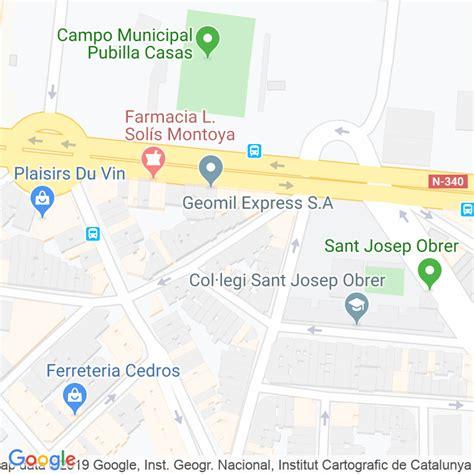 Código Postal calle Churruca en Hospitalet de Llobregat,l ...