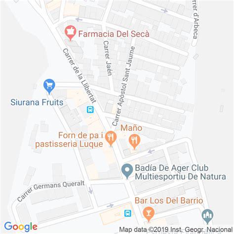 Código Postal calle Creu, La en Lleida   Codigopostalde.es