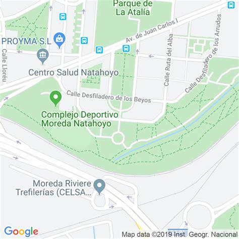 Código Postal calle Desfiladero De Les Xanes en Gijón ...