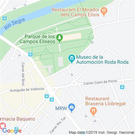 Código Postal calle Eduard Velasco en Lleida ...