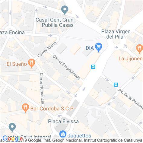 Código Postal calle Empecinado en Hospitalet de Llobregat ...
